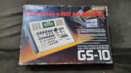 Pedaleira de mesa BOSS Gs 10 Guitar Effect System