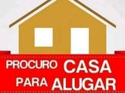 PROCURA-SE CASA PARA ALUGAR.<br>