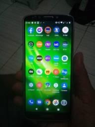 Motorola Moto G6 play está com uma linha não afeta nada