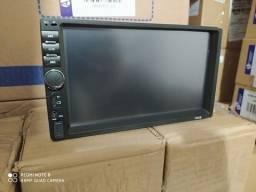 Multimídia Bluetooth Mp5 7 Polegadas com Camera de Ré
