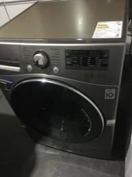 Lava seca 11kg LG zera inox aço escovado linda silenciosa
