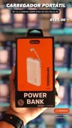 Carregador portátil original Powerbank 10.000mA