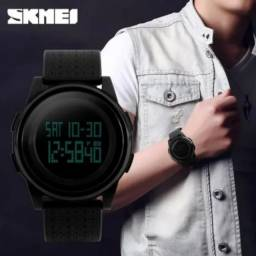 Relógio unissex Skmei Digital 1206 preto