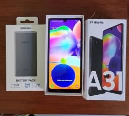 Samsung a31 + powerbank