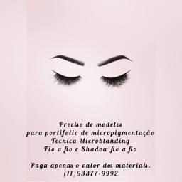 Modelos para micropigmentação