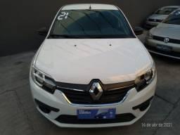 Renault Sandero life 1.0 2021 manual, completo