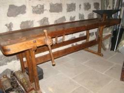 Mesa de marceneiro antiga