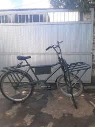 Bicicleta de carga toda no rolamento