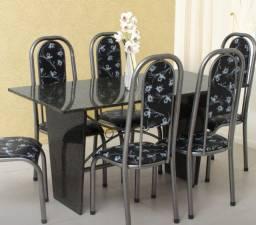 mesa de marmore 6 lugares