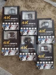 Câmera Sport 4k funciona como webcam