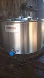 Título do anúncio: Resfriador de leite a Granel 350 litros, inox Ordemilk, Usado.