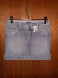 Saia Jeans Zoomp TAM 38 (nova)