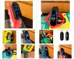Smarband m5 monitoramento:calorias, pressão e batimentos