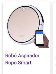 Ropo, robô aspirador Smart. Pouco usado.
