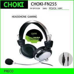 Headphone headset com microfone