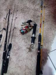 Vendo equipamento de pesca