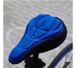 Capa de Selim Azul em gel ( Leia a descrição)