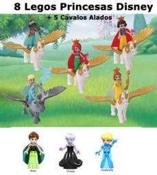 Lote 8 Princesas Disney e 5 Cavalos Alados R$ 80,00