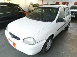 Gm Chevrolet Corsa Wind Com Ar condicionado 1.0 Gasolina 4 Portas Branco 1999/00