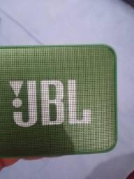 Caixa JBL Go 2, Prova D´água 3.1W Verde Claro Graves incriveis Na caixa LEIA!
