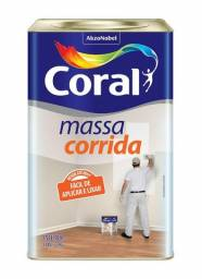 Massa Corrida Coral Latão com 25kg