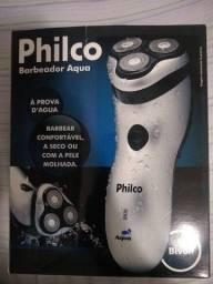 Barbeador Aqua Philco Novo
