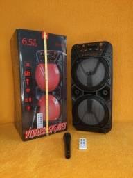 Caixa de Som KTS 1131 Bluetooth Com Microfone