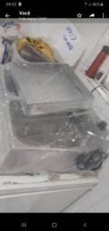 Fritadeira com exugador de frituras