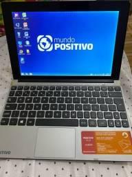 Netbook positivo duo (tablet+netbook) em perfeito estado