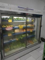 Expositor Vertical Aberto Geladeira Refrigerador