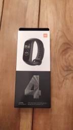 Relógio Pulseira Smartwatch Xiaomi Mi Band 4 Saúde Lacrado! 12x Sem Juros!