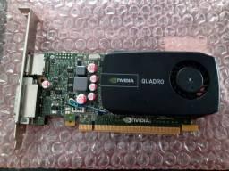 Vendo ou troco Placa de video 1gb Gddr3 Nvidia Quadro 600