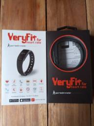 Relógio pulseira inteligente monitor cardíaco