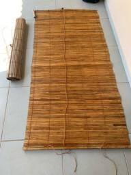 Cortinas de bambus em Araxá