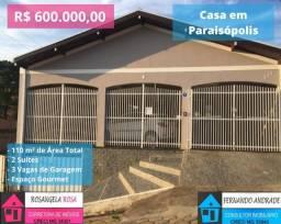 COD:1551 Linda casa em Paraisópolis