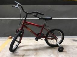 Bicicleta infantil 3 a 5 anos
