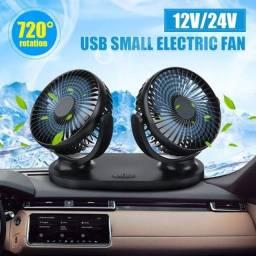 Título do anúncio: Aparelho ventilador duplo automotivo carro