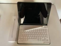 iPad 32GB 7ªgeração usado + Apple Pencil 1ªgeração + teclado bluetooth e capa protetora