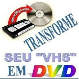 Vhs para dvd e pendraive ou hd