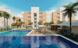 Apartamento com 2 dormitórios à venda, 53 m² por R$ 134.862 - Paumirim - Caucaia/CE