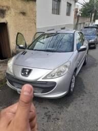 Peugeot 207 - 56mil km, completo + volante de couro