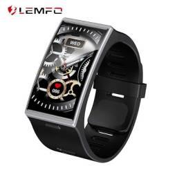 Lemfo DM12 Pulseira Inteligente Relógio esportivo de 1,91 Tela tft