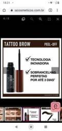 Gel de Sobrancelhas Maybelline Tattoo Brow Peel Off Tint - 3 Dark