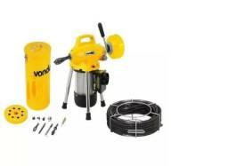 Desentupidor Eletrico Vonder 390w Profissional - Fossa Pia