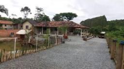 Chácara com 2 dormitórios para alugar, 1300 m² por r$ 350,00/dia - itajuba - barra velha/s