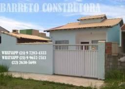 Vendo casa em Rio das Ostras (extensão do serramar), com churrasqueira