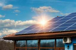Energia solar 4 placas