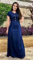 Vendo lindo vestido longo na promoção tamanho M