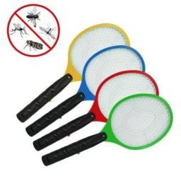 Entrega Grátis * Raquete Mata Mosquito Recarregável * Chame no Whats
