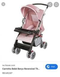 Vendo carrinho de bebe 400,00
